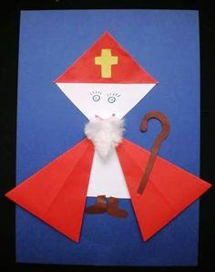 Knutselen Sinterklaas