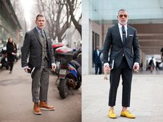 When it comes to judging other people's outfits, there's one person you can always rely on -- our stylist, Gabrielle. We asked her a simple question: who are the best-dressed guys from around the world? This is the answer we got...