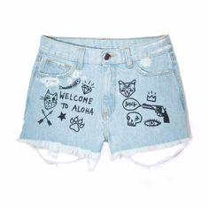 Aloha Shorts   Aloha From Deer   Wolf & Badger