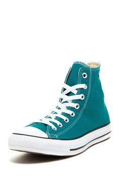 Converse Chuck Taylor High Top Sneaker Men 6 Women 8 Parasailing Athletic Shoes $45