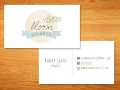 doula business card - beth mathews design