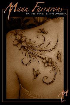 Manu Farrons Tattoo Art ~ Butterflyz