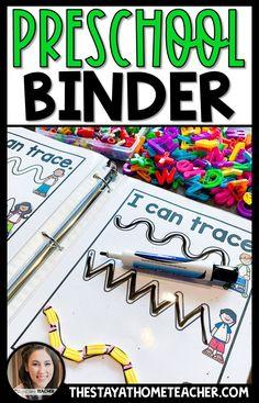 Preschool Skills Binder