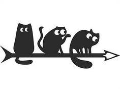 флюгер. флюгер коты.
