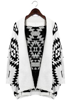 Aztec Open Knit Cardigan- must have this for my grandpa sweater collection <3