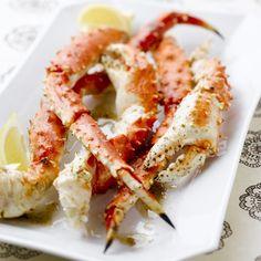 Great Smoky Grilled Alaska Crab