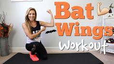 Bye Bye BAT WINGS | Tricep & Arm Workout
