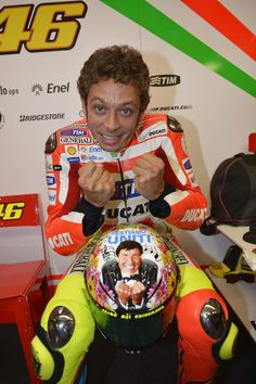 What Does Valentino Rossi's Mugello Helmet Mean?