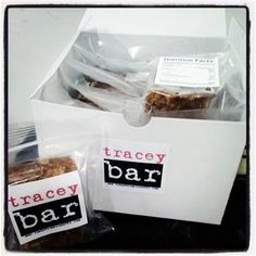Nothing says Thanksgiving like Cinnamon & Spice tracey bars!