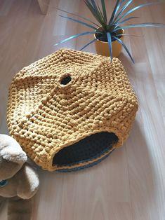 Crochet Pet Cave Eco-Friendly Warm Cat Puppy Bed Modern   Etsy Crochet Pet, Crochet Animals, Puppy Beds, Pet Beds, Straw Bag, Cave, Eco Friendly, Puppies, Pets