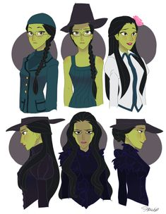 Wicked, Elphaba