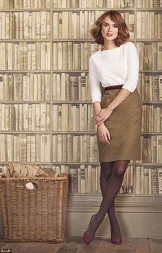Office Tweed - Female Style from #DailyMail #Femail