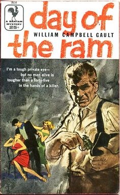 Day of the Ram paperback cover by Mitchell Hooks (1923-2013)