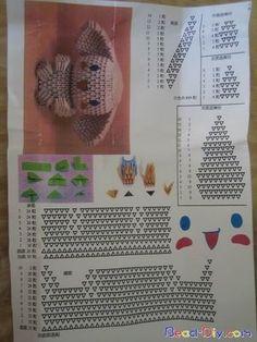 3d origami cinnamoroll diagram | by Jewellia
