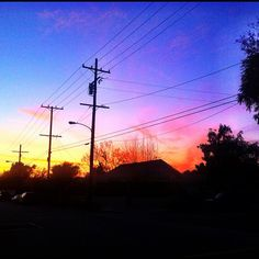 Sunsets and power lines. Instagram: @prepster