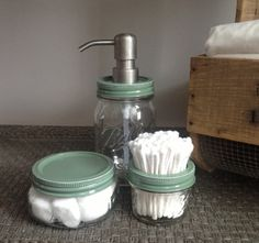 DIY project: https://www.etsy.com/listing/182184376/baby-green-nursery-gift-mason