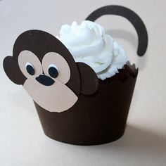 Monkey CupCake Cuppy
