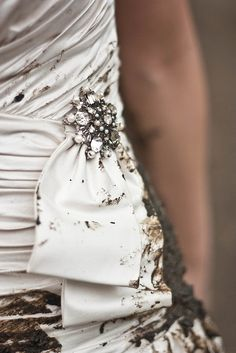 Trash The Dress: Mud. by hannahmayphotos, trash the dress #divorce