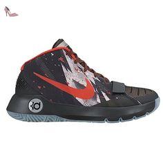 Nike  Kd Trey 5 Iii Prm, Baskets pour homme - noir - noir/rouge, 42 EU - Chaussures nike (*Partner-Link)