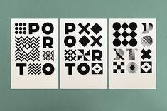 Porto / City Identity and Branding Proposal by Atelier Martino&Jana