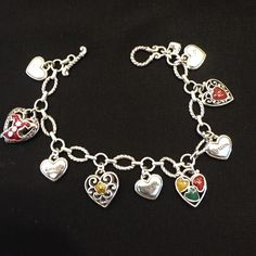 Brighton Red Dress Bracelet Retired Item! Collectors Piece! Brighton Jewelry Bracelets
