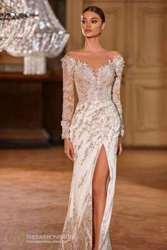 Milla Nova 2021 Spring Bridal Collection – The FashionBrides Bridal Collection, Dress Collection, Popular Wedding Dresses, Fit And Flare Wedding Dress, Gowns With Sleeves, Classic Looks, Bridal Gowns, Ball Gowns, Bride