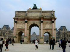 Arco del Triunfo del Carrusel, Paris.