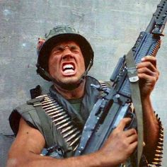 this is my rifle this is my gun this ones for fighting this one's for fun! Love that movie.