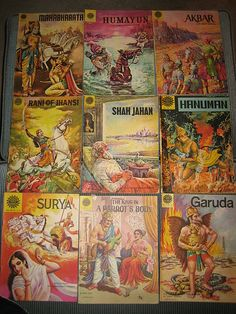 old indian comics