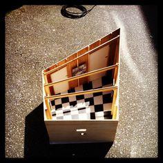 Perspective part 1.  #thruthetrapdoor #onmain #exhibition #installation #vancouver #april22 http://t.co/P5WoPoK8j0