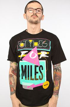 NEFF The Miles Tee in Black : Karmaloop.com - Global Concrete Culture