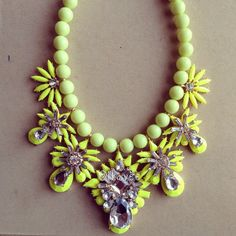 try adding things to a plain bead necklace