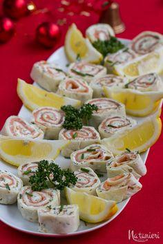Roláda s údeným lososom