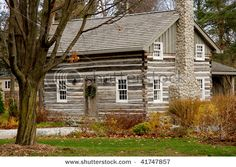 19th century log house on my property to play re-enactor whenever I want!