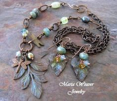 Fresh Organic Greens Necklace