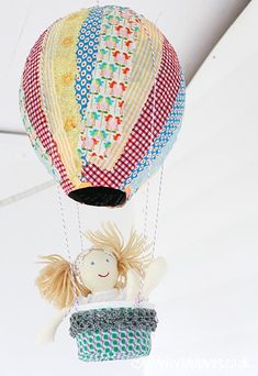 DIY PAPER MACHE HOT AIR BALLOONS