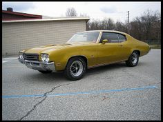 1971 Buick GS Stage 1, HiPerformance 455 4bbl/4speed/3.64 Posi