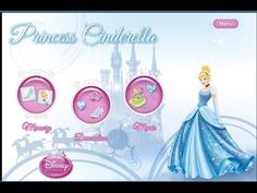 Disney Princess Cinderella - Videos Games for Kids