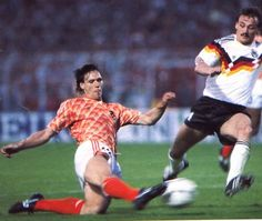 van Basten scored against West Germany EC 1988 quatre finals