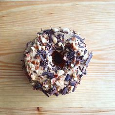 It's Sunday, cry the weekend away with our Beer Nut special. #doughnut #beernut #beer #gloryhole #sundayfunday #parkdale #toronto #the6ix #blessed