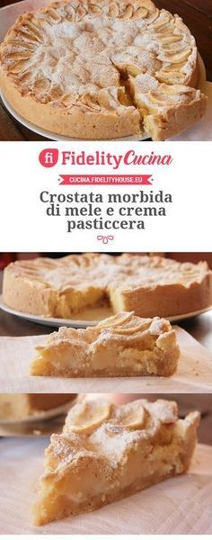 Oh man, here is another Apple Recipes, Sweet Recipes, Baking Recipes, Cake Recipes, Dessert Recipes, No Cook Desserts, Italian Desserts, Torte Cake, Sweet And Salty