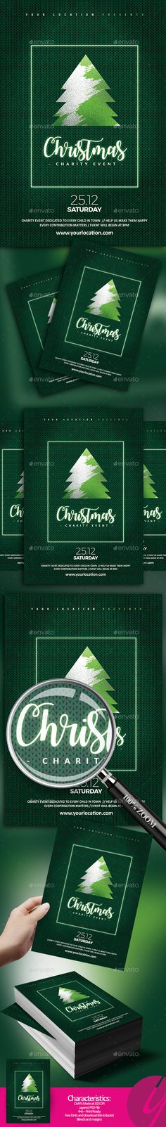 Christmas Charity Flyer - Events Flyers