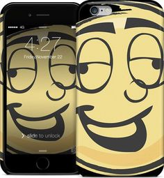 Drunk Emoji iPhone 6 Case #iPhone #case #hardcase #iPhone6 #cartoon #cool #toon #funky #awesome #vectortoons #vector #clipart #stock