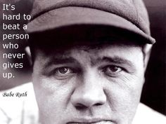 babe-ruth-hard to beat quote on Integrity Based Marketing Blog for leaders and entrepreneurs