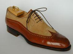 Men Spectator Shoes Men Wingtip Brogue Two Tone Shoes Formal Dress Shoes - Prada Shoes Mens - Ideas of Prada Shoes Mens - Handmade Leather Shoes, Suede Leather Shoes, Cow Leather, Formal Shoes For Men, Men Formal, Spectator Shoes, Cowboy Shoes, High Ankle Boots, Big Men Fashion