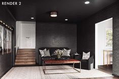 Bringing The Movie Theater Home With Your Family In Mind (It's A REVEAL Y'all!) - Emily Henderson #tvroom #movieroom #homedecor Media Room Design, Study Design, Living Room Furniture, Living Room Decor, At Home Movie Theater, High Point Market, Paint Colors For Living Room, Decorating Small Spaces, Home Organization