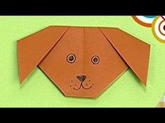▶ How to make a Paper Dog (Tutorial) - Paper Friends 38 | Origami for Kids - YouTube