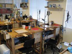 Jewelry Studio Classroom by JoeSilvera, via Flickr