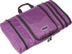 eBags Pack-it-Flat Toiletry Kit Eggplant - via eBags.com!