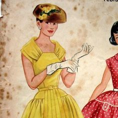 Sassy Fifties Misses Dress Pattern  Australian Home Journal
